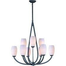 <strong>Maxim Lighting</strong> Elan 9 Light Chandelier