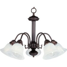 <strong>Maxim Lighting</strong> 6.613Malibu ES 5 Light Chandelier