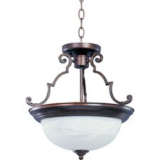 Essentials ES 2 Light Inverted Pendant