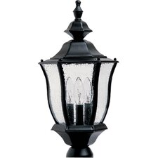 Madrona 3 Light Outdoor Post Lantern