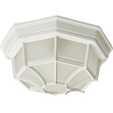 Octagonal Outdoor Flush Mount