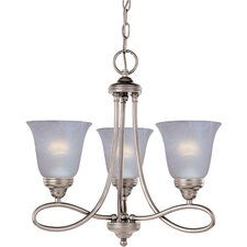 <strong>Maxim Lighting</strong> Nova 3 Light Mini Chandelier