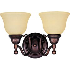 <strong>Maxim Lighting</strong> Soho 2 Light Wall Sconce