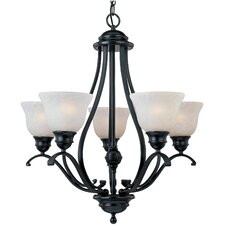 Linda 5 Light Up Chandelier