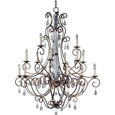 Phirce 15 - Light Multi - Tier Chandelier