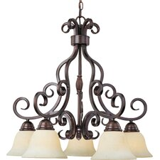 Tenor 5 - Light Down Light Chandelier