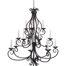 <strong>Maxim Lighting</strong> Manor 40W 15 Light Chandelier