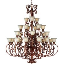 Octavio 27 - Light Multi - Tier Chandelier