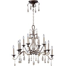 Chic 10 Light Chandelier