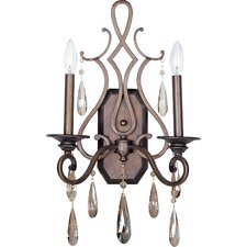 <strong>Maxim Lighting</strong> Chic 2 Light Wall Sconce