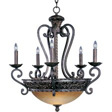 Tra 5+3 - Light Multi - Tier Chandelier