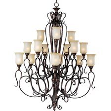 <strong>Maxim Lighting</strong> Sausalito 15 Light Chandelier