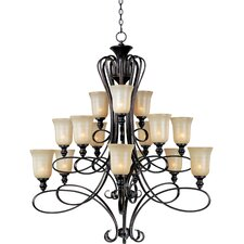 <strong>Maxim Lighting</strong> Infinity 15 Light Chandelier