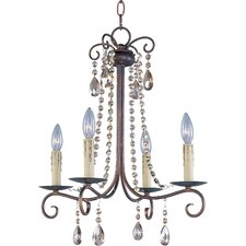 Adriana 4 Light Chandelier
