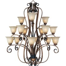 Chapelle 15 - Light Multi - Tier Chandelier