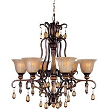 <strong>Maxim Lighting</strong> Dresden 6 Light Chandelier