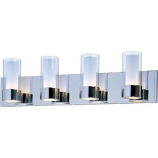 <strong>Maxim Lighting</strong> Silo 4 Light Bath Vanity Light