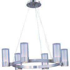 <strong>Maxim Lighting</strong> Silo 6 Light Chandelier