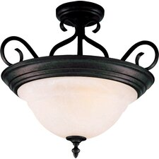 Pacific 3 Light Semi Flush Mount