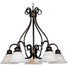 Pacific 5 Light Chandelier