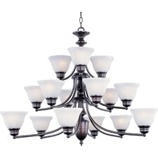 Tacet 15 - Light Multi - Tier Chandelier