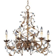 Avenida 6 - Light Single - Tier Chandelier