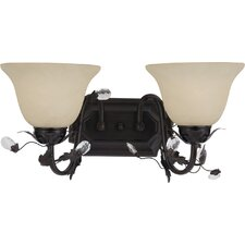 <strong>Maxim Lighting</strong> Elegante 2 Light Vanity Light