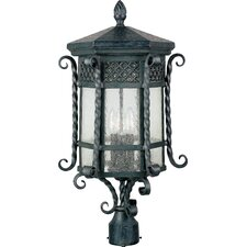 <strong>Maxim Lighting</strong> Scottsdale 3 Light Outdoor Post Lantern