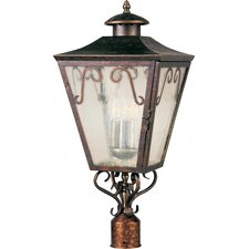 Cordoba 3 Light Outdoor Post Lantern