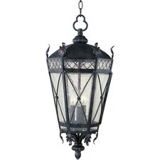 <strong>Maxim Lighting</strong> Canterbury 3 Light Hanging Lantern