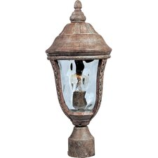 Whittier DC 3 Light Outdoor Post Lantern