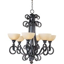 <strong>Maxim Lighting</strong> Ophelia 6 Light Chandelier