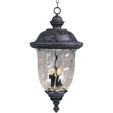 Carriage House DC 3 Light Outdoor Hanging Lantern