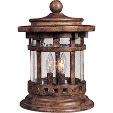 Santa Barbara Vx 3 Light Outdoor Deck Lantern
