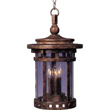 Santa Barbara VX 3 Light Outdoor Hanging Lantern