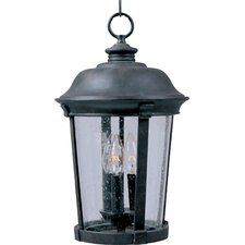 Dover VX 3 Light Outdoor Hanging Lantern