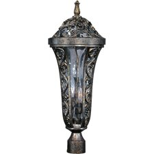 Montecito VX 3 Light Outdoor Post Lantern