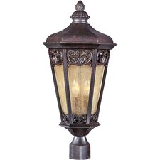 Lexington VX 3 Light Outdoor Post Lantern