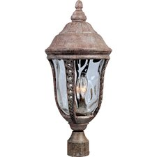 <strong>Maxim Lighting</strong> Whitter VX 3 Light Outdoor Post Lantern