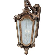 Bastille VX 3 Light Outdoor Wall Sconce