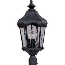 """Garden VX 3 Light 24"""" Outdoor Post Lantern"""