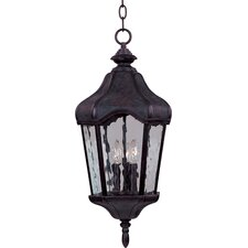 <strong>Maxim Lighting</strong> Garden VX 3 Light Outdoor Hanging Lantern