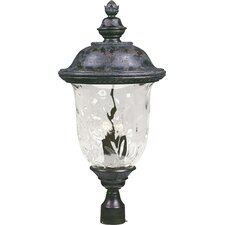 "<strong>Maxim Lighting</strong> Carriage House VX 3 Light 29"" Outdoor Post Lantern"