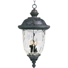 Carriage House VX 3 Light Outdoor Hanging Lantern