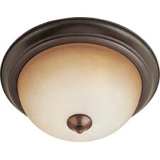 <strong>Maxim Lighting</strong> Essentials 1 Light Flush Mount