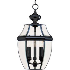 South Park Large 3 Light Outdoor Hanging Lantern