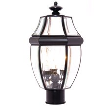 South Park 3 Light Small Outdoor Post Lantern