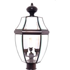 South Park Large 3 Light Outdoor Post Lantern