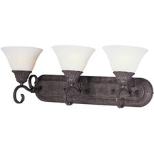 Canyon Rim 3 Light Vanity Light