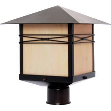 "<strong>Maxim Lighting</strong> Taliesin 1 Light 11"" Outdoor Post Lantern"